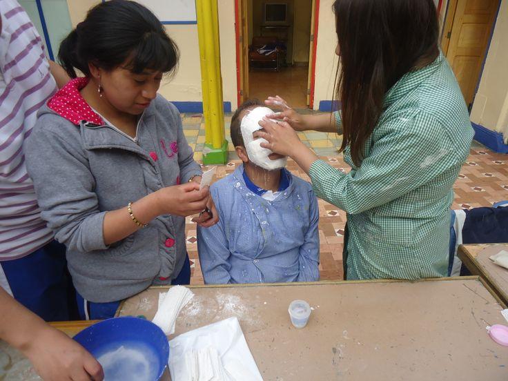 Elaboración de máscaras en yeso