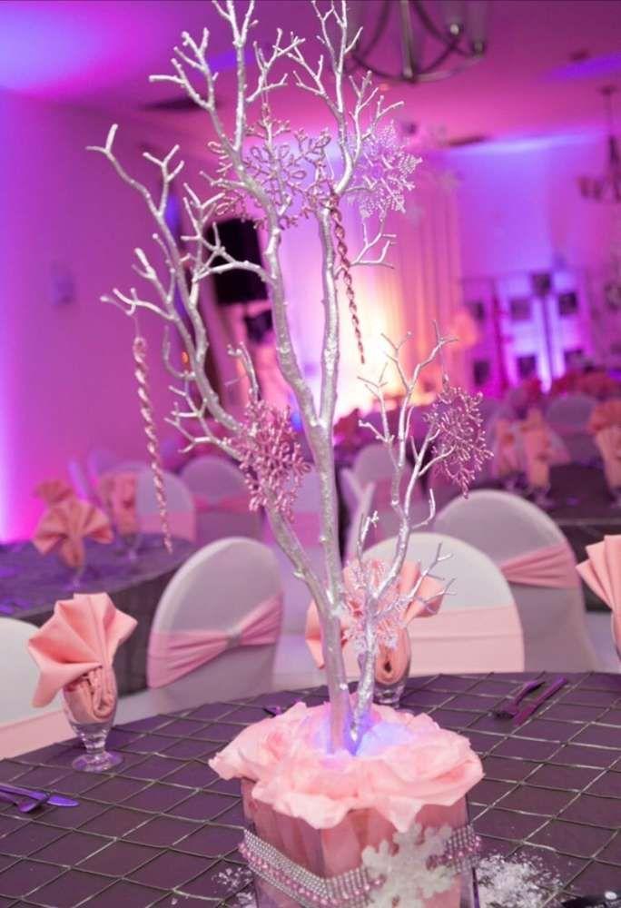Winter wonderland Birthday Party Ideas | Photo 1 of 17 | Catch My Party