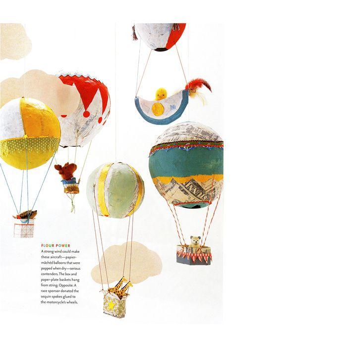 Craft Ideas Balloons: 25+ Unique Paper Mache Balloon Ideas On Pinterest