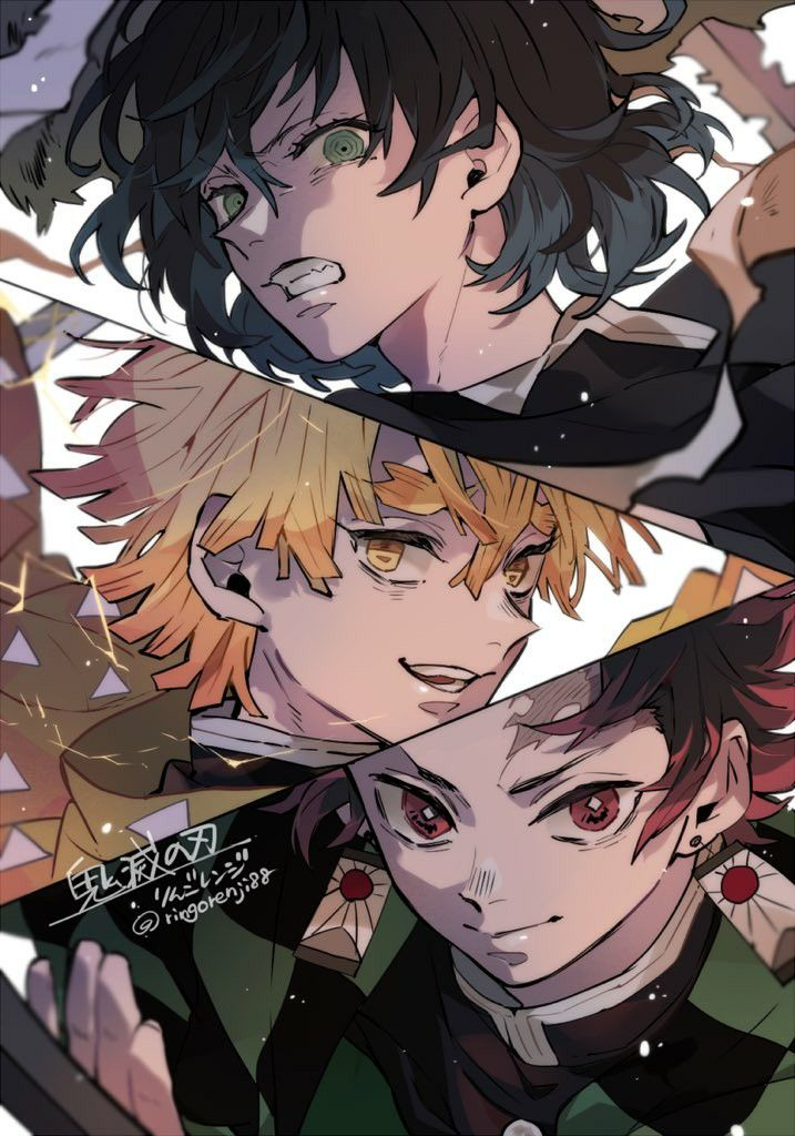 Pin by ⭐你的名字🍀 on 鬼滅之刃 in 2020 Anime demon, Slayer anime