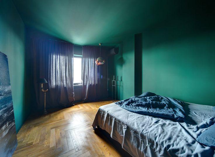 Спальня цвета морской волны #frandgulo #decor #fineinteriors #homedecor #decoration #design