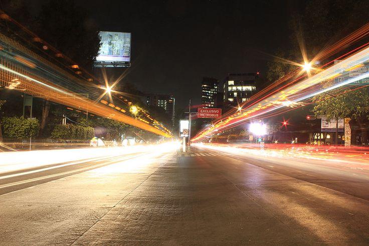 La avenida más grande de México, Insurgentes.