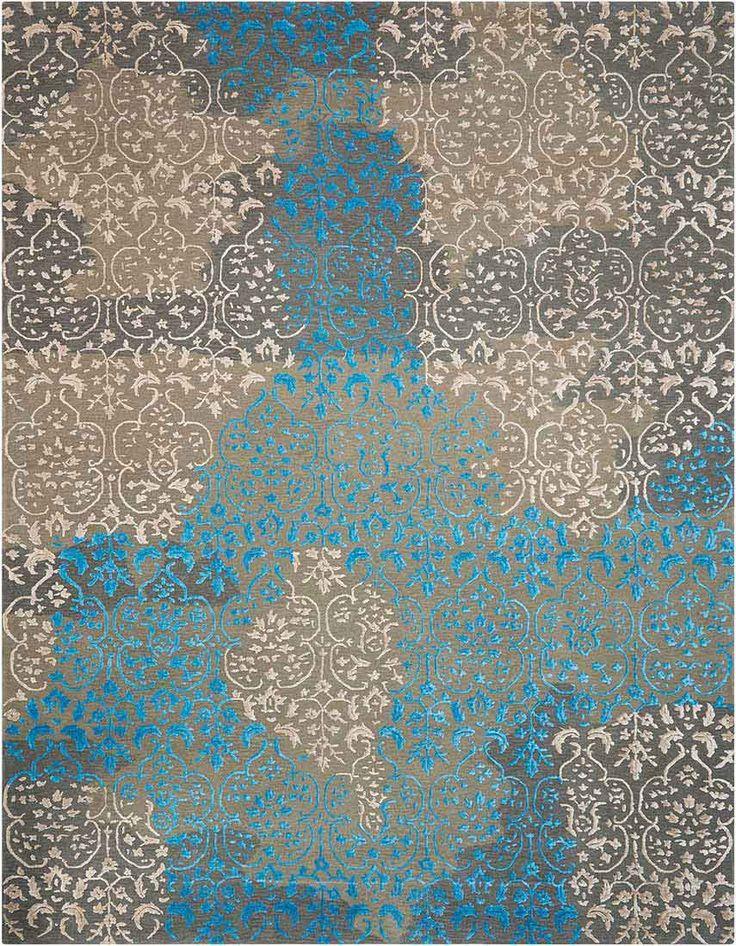 Nourison rug Opaline 13 Charcoal