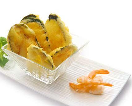 Courgette tempura