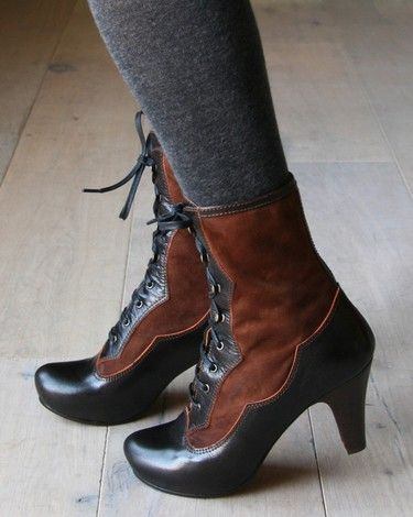 Chie Mihara, Casandra - these complete my need for victorian boots. want.