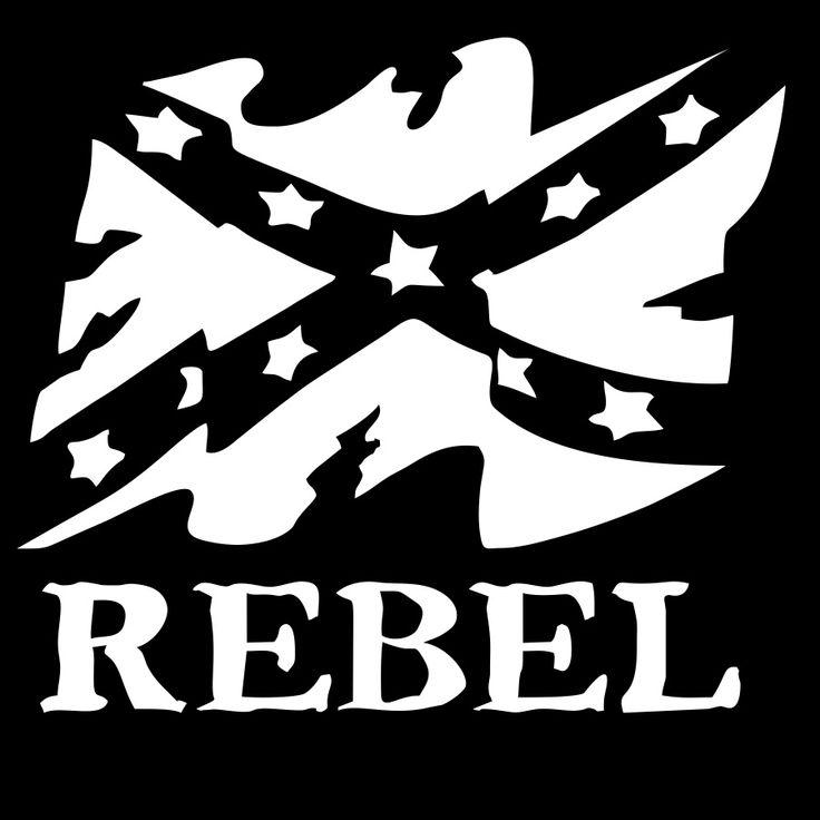 Old rebel flag