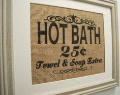 burlap bath set - Buscar con Google