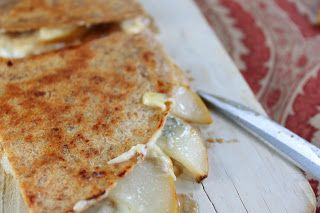Blue cheese, Quesadillas and Pears on Pinterest