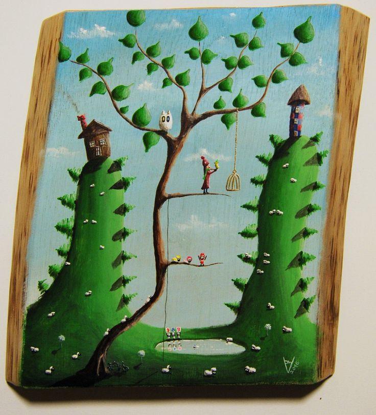 """""""me 12"""" Paweł Widera original paintings, acrylic on wood"""