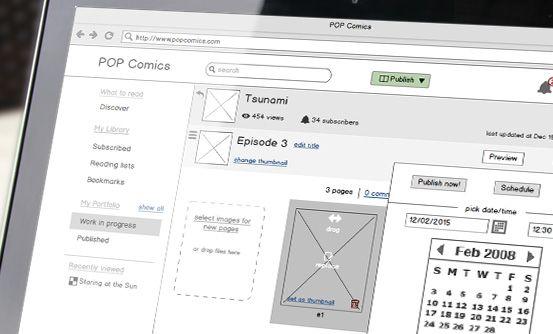 już wkrótce dokumentacja funkcjonalna i prototyp dla aplikacji do czytania i publikacji komiksów //  coming soon functional documentation and a prototype for app that allows reading and publishing comics