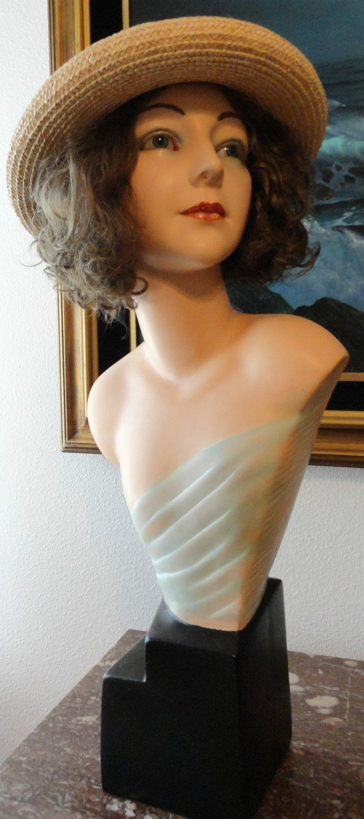antique mannequin | Antique French Mannequin Glass Eyes Late 19th C to Early 20th C ...