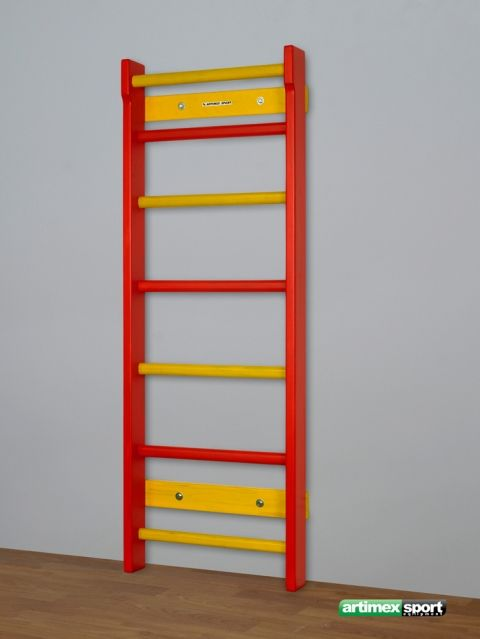 Size: 170x60 cm, Children wall bar in two colors, Product code 250-B