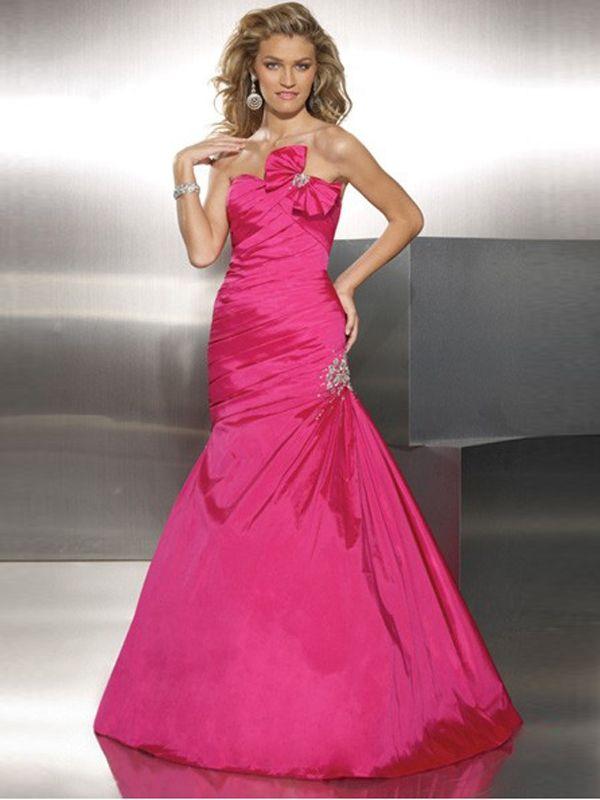 Mejores 30 imágenes de Hot Pink Prom Dresses en Pinterest   Vestidos ...