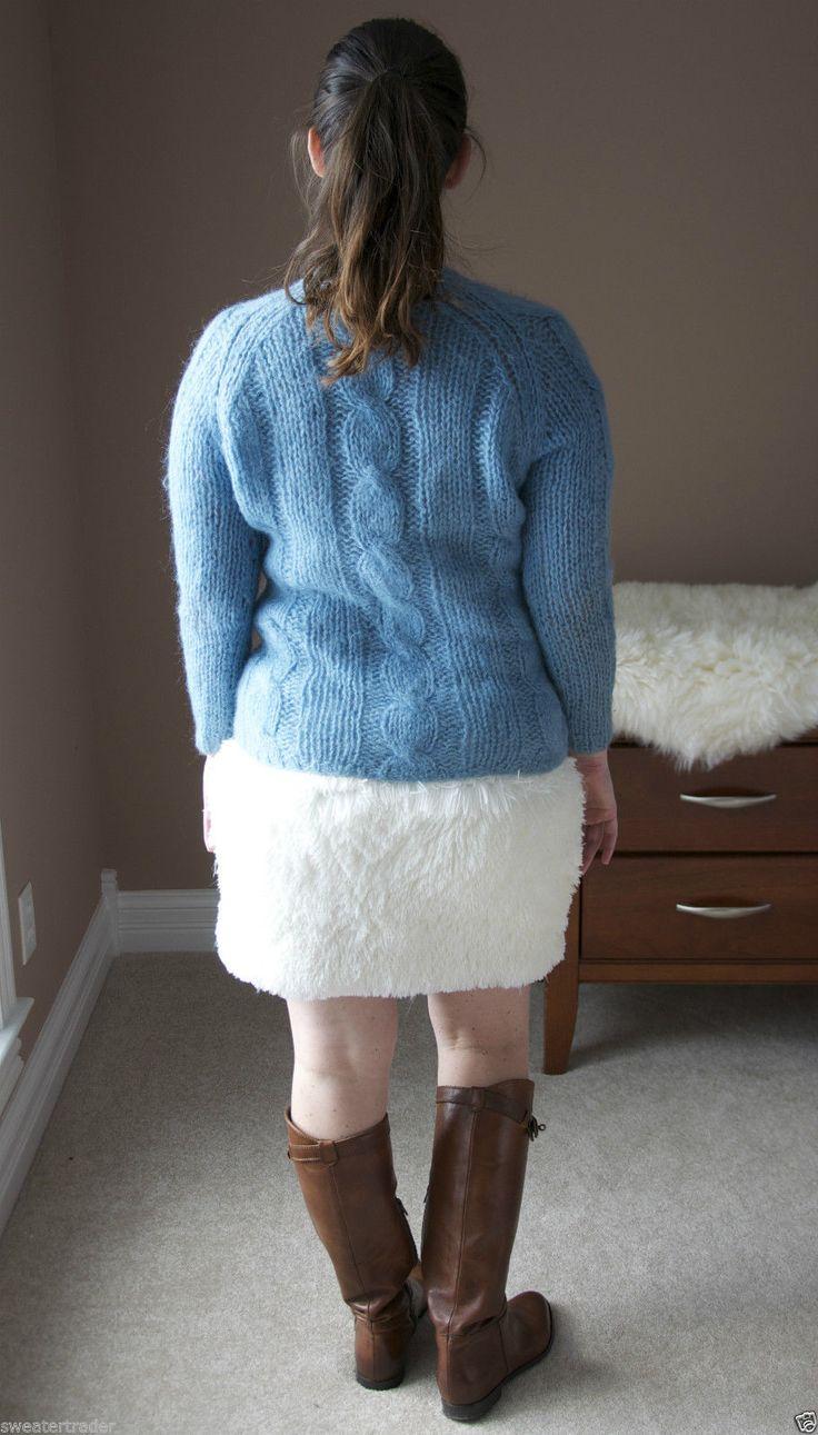Wool Sweater Furry 98