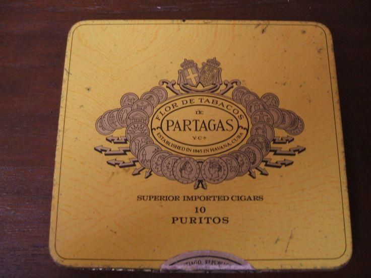 "Scatola Di Latta Sigari, Originale • EUR 10,00 • Click to See Photos! Get the Best Deal, Money Back Guarantee! ORIGINALE SCATOLA DI SIGARI IN LATTA MARCA ""PARTAGAS, SANTIAGO. CM 12,5X11,2. Visita il mio Negozio eBay: Carnaby street 60's 261035463615"