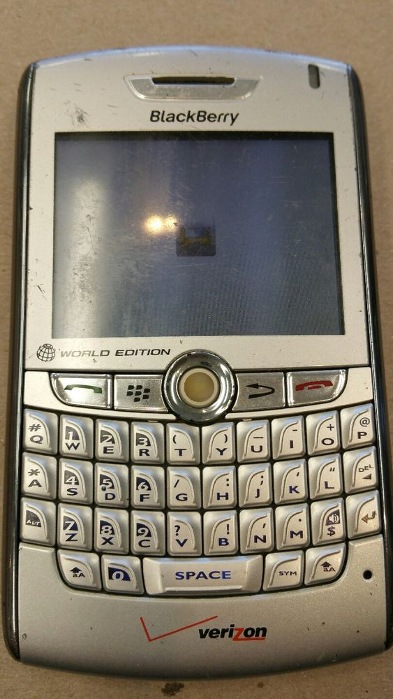 BlackBerry 8830 - Silver (Verizon/PAGE Plus) World Edition 71279490533 | eBay