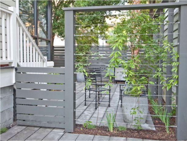 Best 25 garden dividers ideas on pinterest hot tub for Garden divider ideas