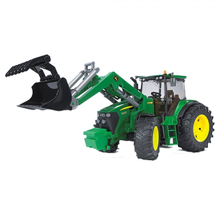 John Deere Bruder 1/16 Scale 7930 w Front Loader - 1/16 Scale - Toys & Collectibles   RunGreen.com
