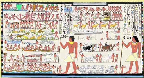 Perceptual and Conceptual Art in Ancient Egypt