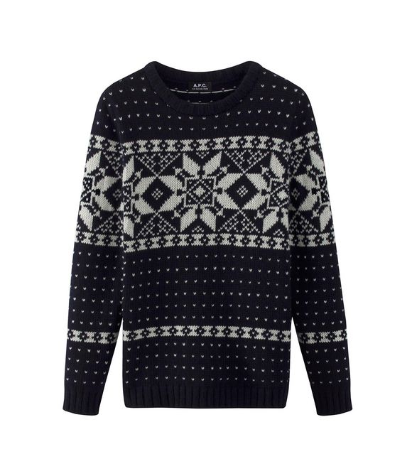 Snow yeti jumper - A.P.C. MEN