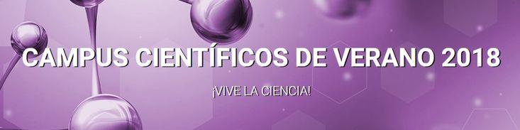 El Ministerio de Educación, Cultura y Deporte y la Fundación Española para la Ciencia y la Tecnología (FECYT) ofrecen 1.560 ayudas para participar en turnos semanales del 1 al 28 de julio en el programa de Campus Científicos de Verano 2018 para alumnos de enseñanza secundaria y bachillerato.