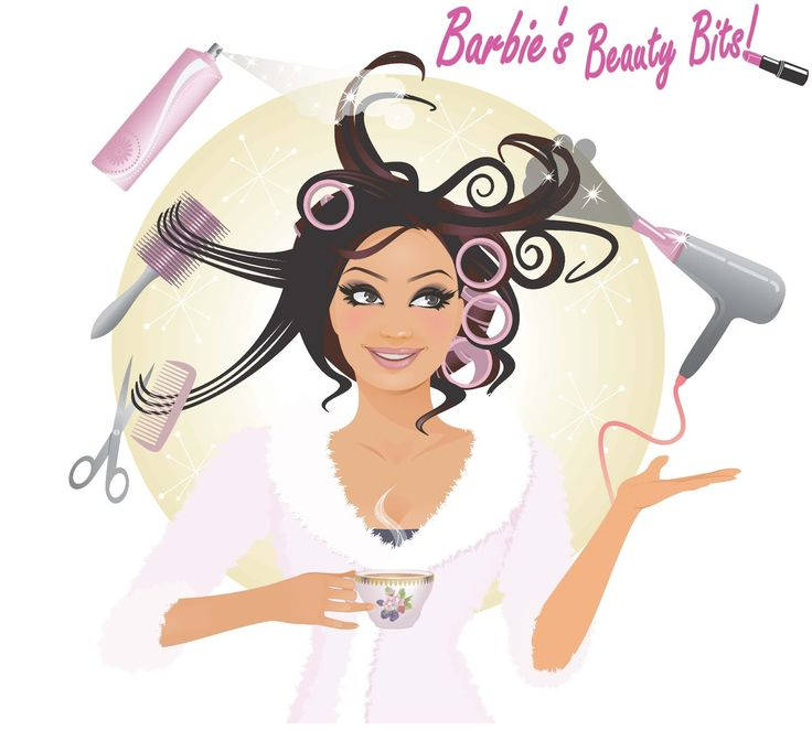 cartoon makeup hair cartoons putting spray peluquera domicilio blush frizerski beauty salon lepotni secret studio wallapop tween judit holika istockphoto