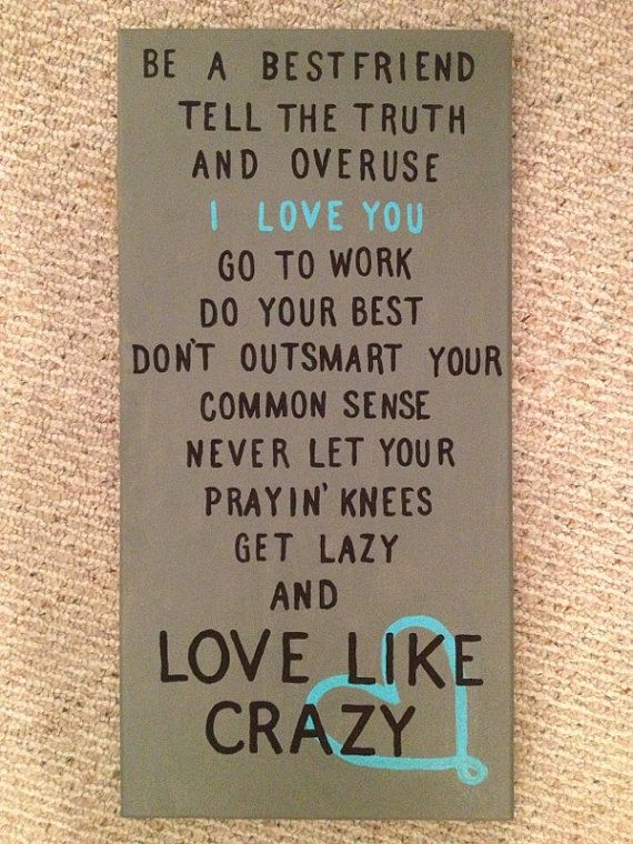 Love Like Crazy canvas @April Cochran-Smith Cochran-Smith Cochran-Smith Davis you need this