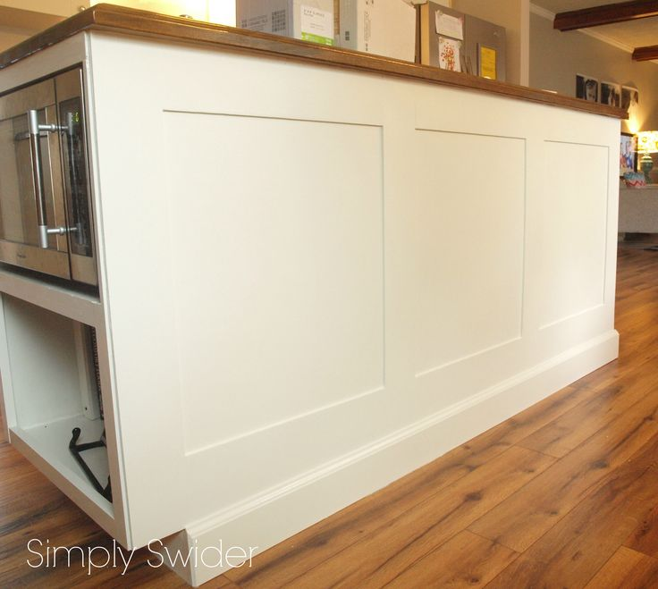 9 Types Of Molding For Your Kitchen Cabinets: How To Make A Cover Panel