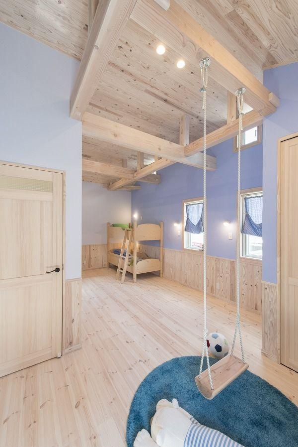 子ども部屋 モデルハウス ナチュラルハウスの写真集 埼玉県越谷市の