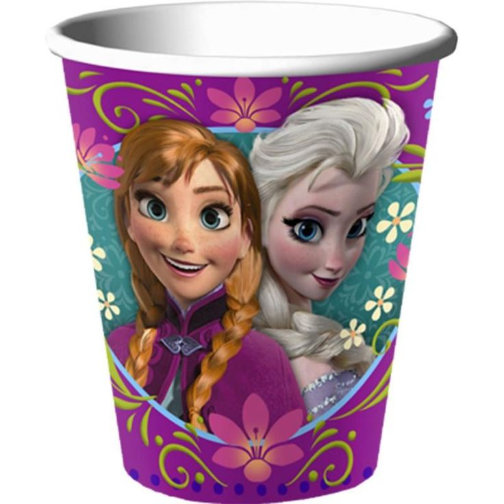 Frozen 9 oz cups: every purchase through this link supports charity