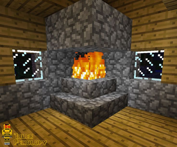 Fireplaces are great decorative pieces for your house in Minecraft, but, if you are not careful, you can end up burning down your beautiful home. Tho...