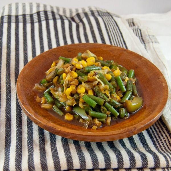 Wokgemüse Prinzessbohnen (Oseng Buncis) Braten Gemüse Hauptgerichte #asianfood #asiatisch #exotisch