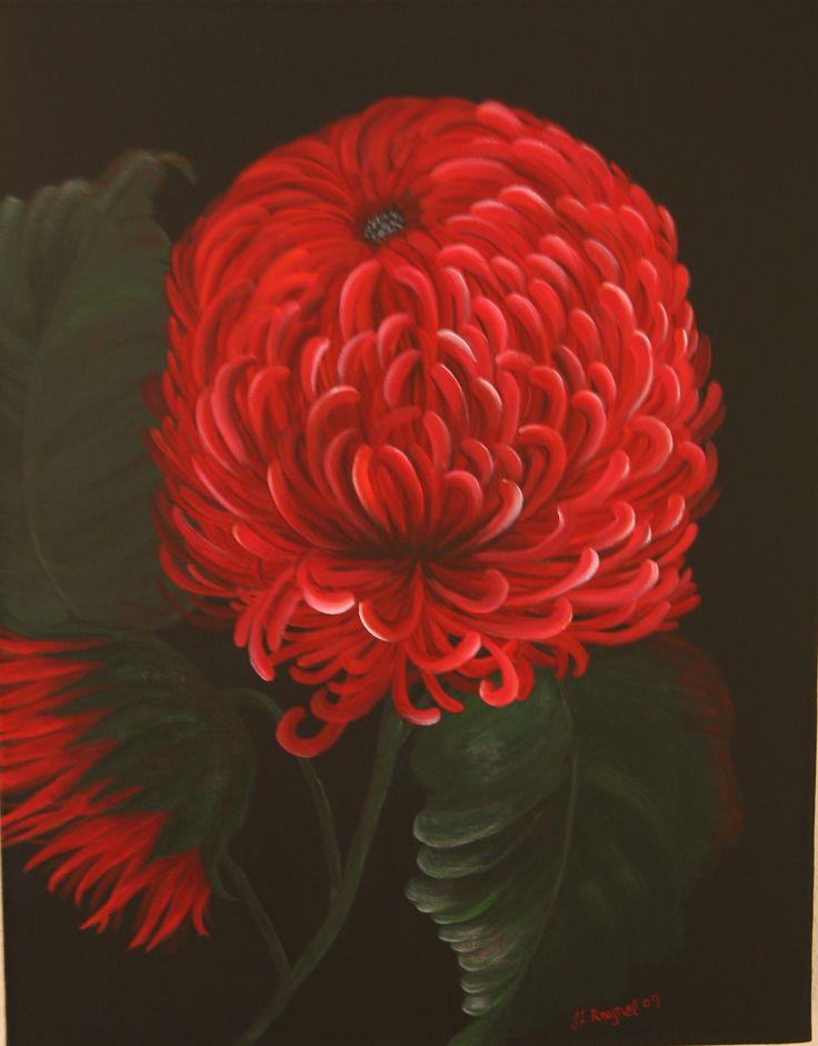 A Gerbera I painted