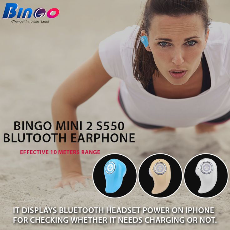 #Bingo #Mini2S550 We are selling the most amazing Bingo Bluetooth Earphones specially designed to provide efficient magnified sound effects & high speed. For more information,  visit:http://amzn.to/2bXwcBN