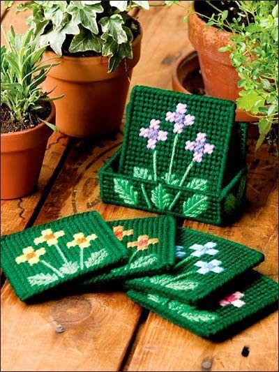 Field of Flowers Coasters 1/3: