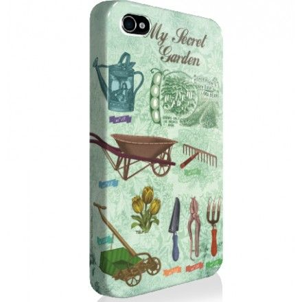 "SALE ! Coque iPhone ""My Secret Garden"" - Les broutilles"