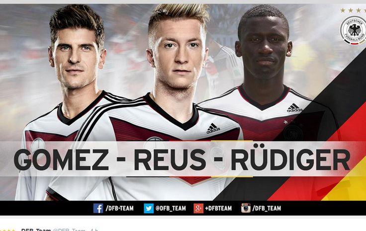 Alemanha faz primeira convocação após tetra com Reus e Mario Gómez #globoesporte  ♥♥♥