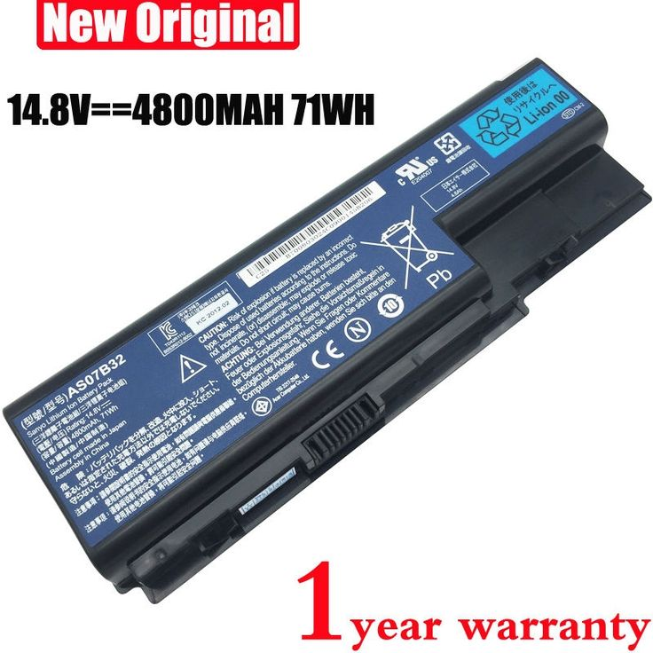 34.65$  Know more  - 8cell 14.8V AS07B31 original Laptop Battery for acer Aspire AS07B32 5520 5720 5920G 5930G 6920G 6930G 7520G 7330 5930G AS07B51