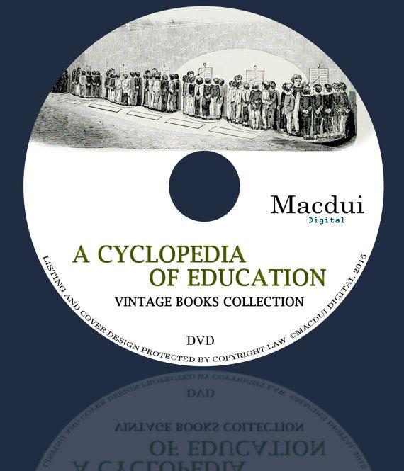 A cyclopedia of Education / Monroes Cyclopedia  by MacduiDigital