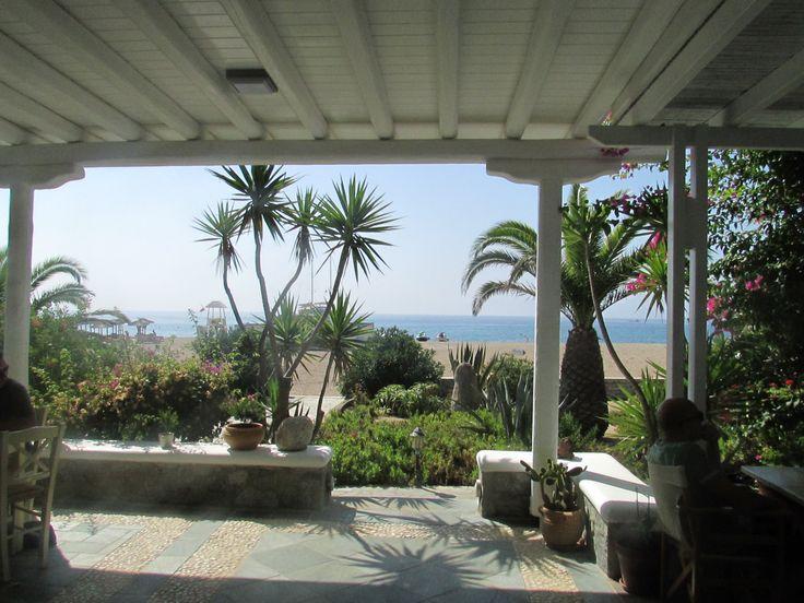 Sunrise Beach Hotel Agrari Beach,  Mykonos, Greece