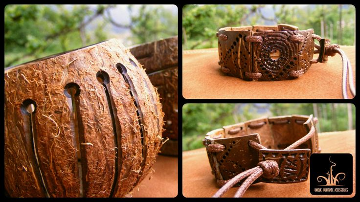ART Nut Unique handmade accessories by viX. Jewelry / Earrings / Bracelets / Candlesticks / Material : Coconut / Wood Limited Quantity!!! Design : Victor Carabashof  ---------------------- #handmade #coconutshell #unique #necklace #carving #jewellery #jewelry #bracelet #Ethno #African #Natural #Wooden #Exotic #Abstract #Giftforhim #Fractal #Artistic #Organic #Spiral #Handcarved #brown #orange #wood #Eco #New #ARTNut #VictorCarabashof #Design