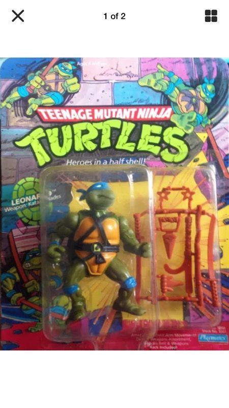1988 TEENAGE MUTANT NINJA TURTLE - LEONARDO - BRAND NEW ( Collectibles ) in Hermosa Beach, CA - OfferUp