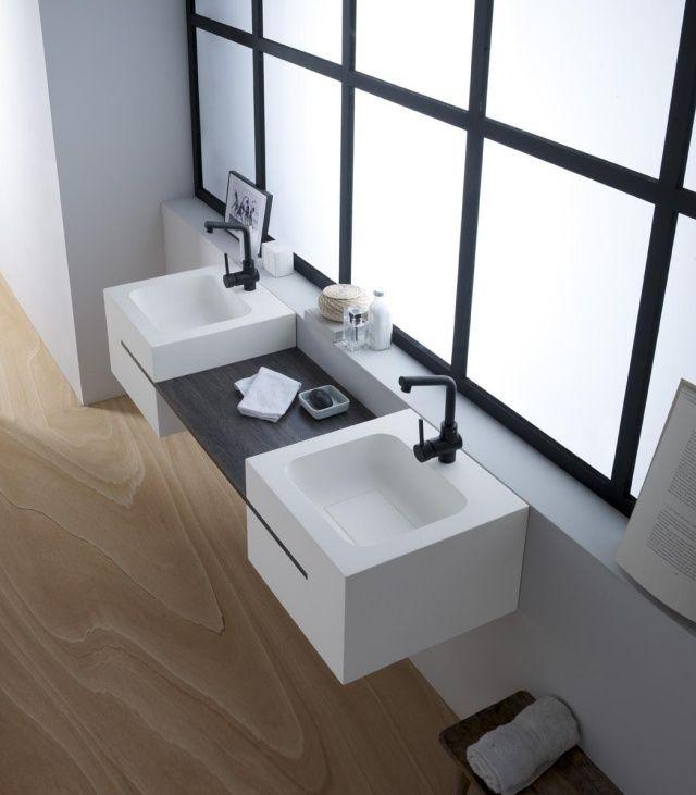 Vasque design en 37 exemples pour la salle de bains moderne!