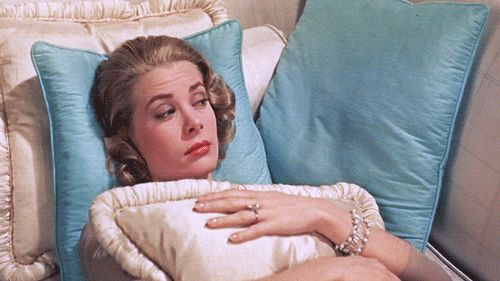 Grace Kelly ~ she wore her engagement ring from Prince Rainier in the movie High Society