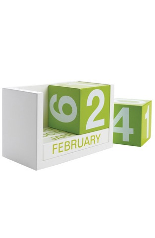 Calender Blocks Green