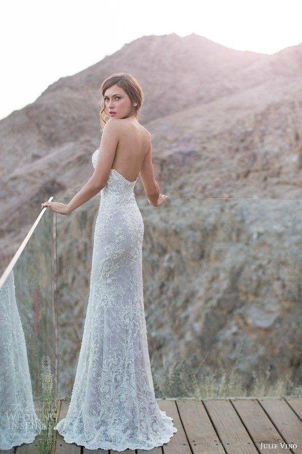 Cindy strapless gown 2014 - White Strapless Wedding Dress
