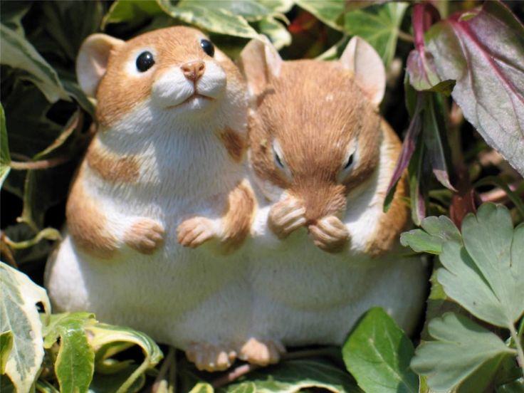 Sherratt & Simpson Country Artists Hamster Pair, One Asleep #59218 | eBay