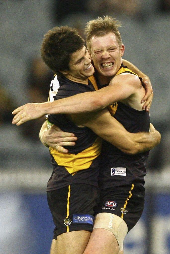 Jack Riewoldt and Trent Cotchin Photo - AFL