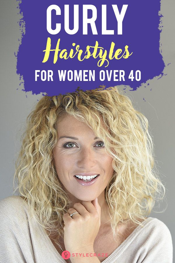 20 Simple Curly Hairstyles For Women Over 40 Curly Hair Styles Easy Curly Hair Styles Hair Styles