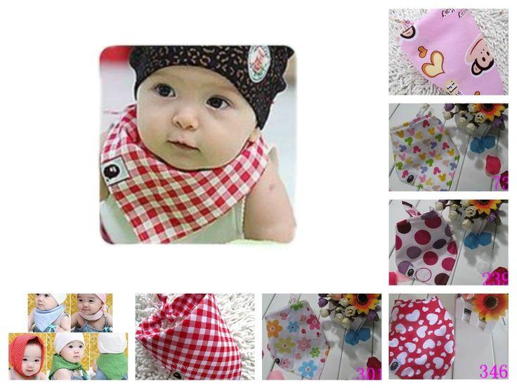 Bella bambini Confezione da 6 moda & funky del bambino bandana palleggio Catcher bib / Foulard / Bandana (Disegno 3)